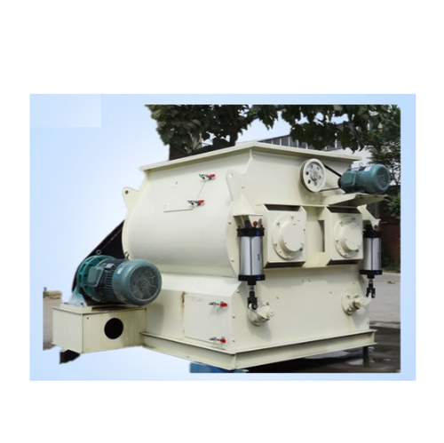 Bharath Twin Shaft Paddle Mixers, Model: BPM, Capacity: 1 to 10 TPH