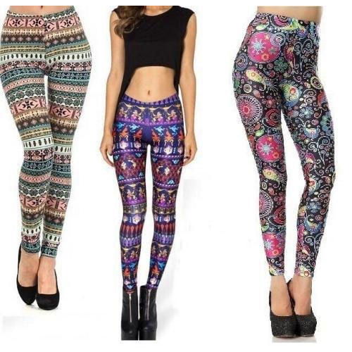 0d173da643c0c Cotton Lycra Fancy Leggings, Size: Small, Medium, Large, Rs 75 ...
