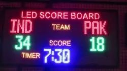 LED Scoreboard for Cricket