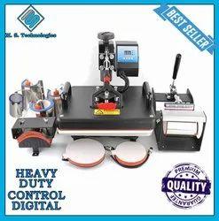Automatic 8 in 1 Heat Press Machine