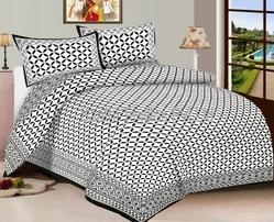 Printed Pure Cotton Designer Bed Sheet
