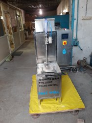 Semi automatic gel filling machine
