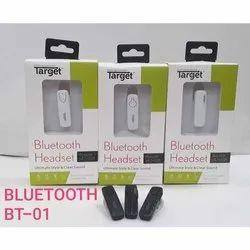 Target Bt 01 Bluetooth Headset ब ल ट थ ह डस ट Ashirwad Electricals Mumbai Id 19320555397