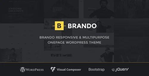 Brando OnePage WordPress Theme Service in Makarba, Ahmedabad ...