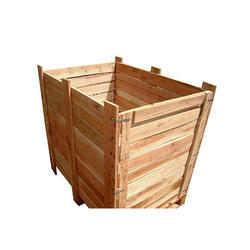 Rubber Wood Collapsible Wooden Box
