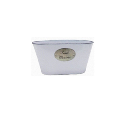 Sweet Memories Metal Oval Tub To Gift Your Loved Ones As Party Favors Or Return Gits