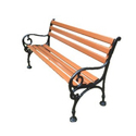 Kingsville Cast Iron Garden Bench