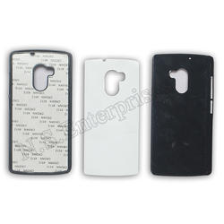 White 2D Lenovo K4 Mobile Cover