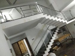 Staircase Glass Handrail