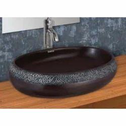 Black Table Top Wash Basin