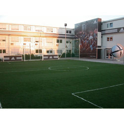 Football Ground Artificial Grass