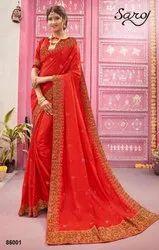 Latika By Saroj Sana Silk With Heavy Border Saree