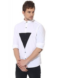White Triangle Club Wear Shirt