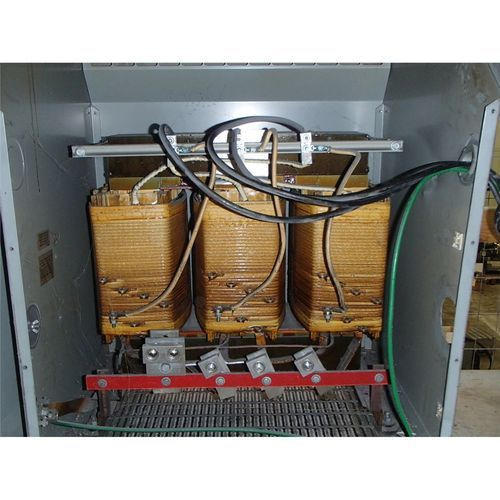 Dry type transformer hook up