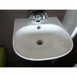 Haptic White Wash Basin