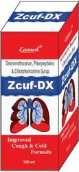 Zcuf-Dx Suger Free Cough Syrup 100 ml