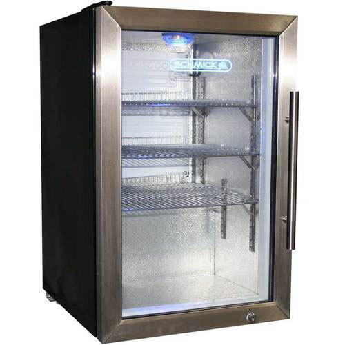 Stainless Steel Glass Door Refrigerator Domestic And Industrial Rs