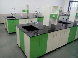 Green And White Lab Furniture