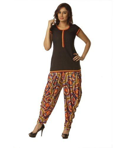 Small   Medium Casual Wear Printed Patiala Pants a55a65721