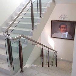 Glass Interior Railing