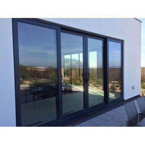 Aluminium Entry Door At Rs 230 Square Feet Aluminum Door