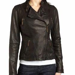 Women's Biker Jacket (Zippers)