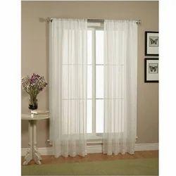 Cotton Plain Window Curtain, Size: 4 X 7 Feet And 4 X 9 Feet