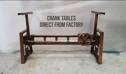 Industrial Furniture Crank table