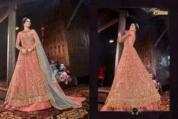 Wedding Georgette Heavy Embroidery Suit
