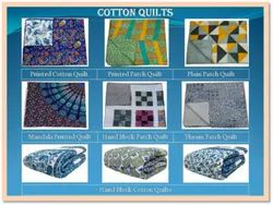 Handmade Cotton Quilts