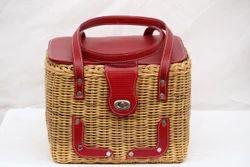 Cane Picnic Basket 13 x 10 x 10 (Inch)