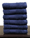 100% Cotton Soft Bath & Hand Towels 16x24 Set of 6