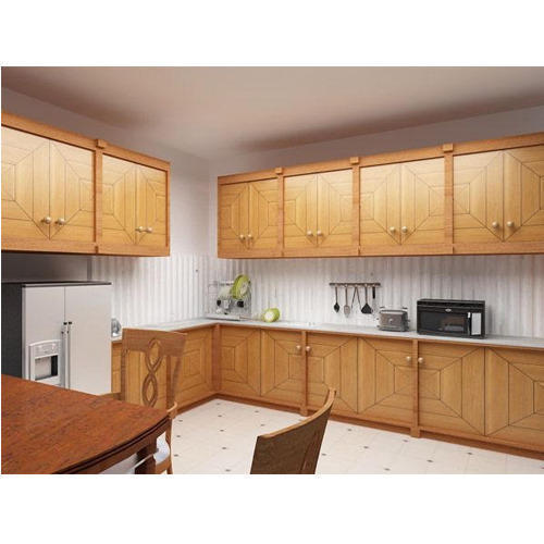 Designer Modular Kitchen At Rs 360 Square Feet: Plywood Modular Kitchen At Rs 1350 /square Feet