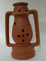 Clay Night Lamp 12 Inch