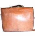 Classic Executive Briefcase Leather Bag