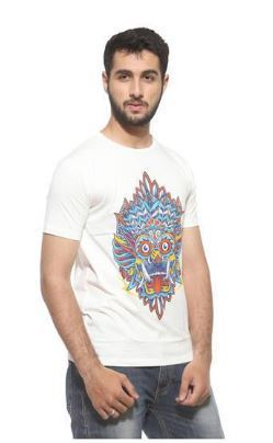 881518c63 Medium , Large WHITE Mens Printed T Shirt, Rs 399 /piece | ID ...