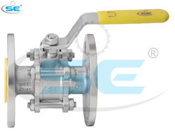 3 Piece Design Stainless Steel Industrial Ball Valves, Model Name/Number: BV3015
