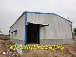 Mild Steel Roofing Fabrication Work