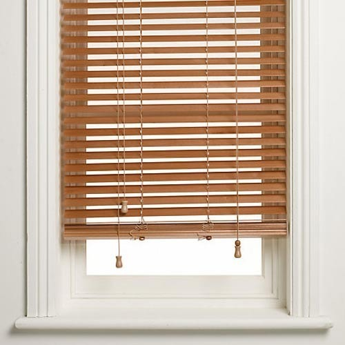 Wooden Venetian Blinds व डन