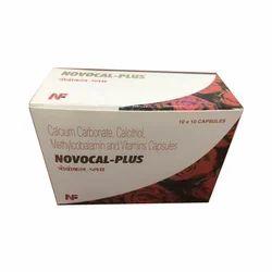 Calcium Carbonate Calcitriol Methylcobalamin And Vitamins Capsule, Packaging Type: Strip