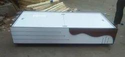 White Single Storage Bed, Warranty: 1 Year