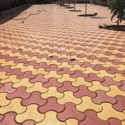 Interlocking Lacquer Pavers Blocks