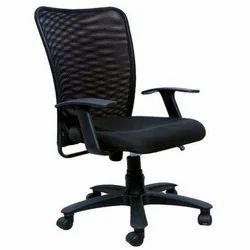 PU Black Ergonomic Office Chair