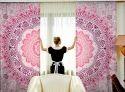 Cotton Mandala Curtains & Drapes