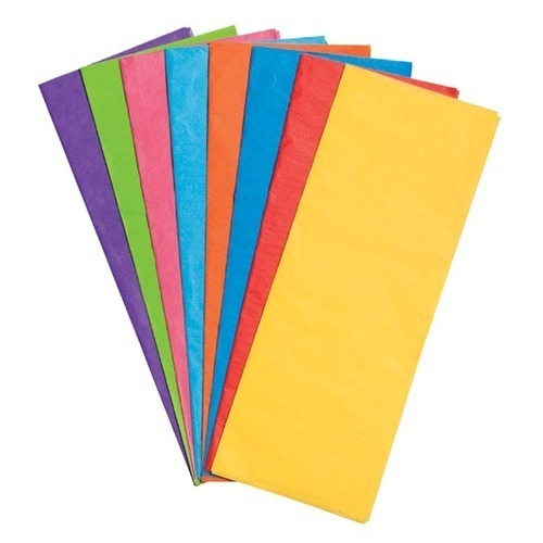 Colored Tissue Paper at Rs 80  packet   Colored Tissue Paper   ID ... 528e32dade7e
