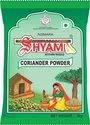 Green Spicy Shyam Coriander Powder, Packaging Size: 100 G, Packaging Type: Packet
