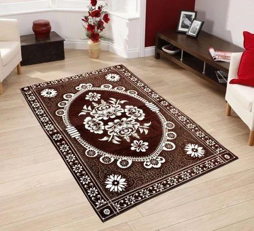 Desi Kapda Cotton Carpet, Size: 5*7 and 2*4