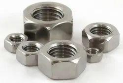 Hexagonal Mild Steel Industrial Nuts, Packaging Type: Jute Bag
