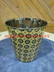 SS Dustbins Diamond Finish