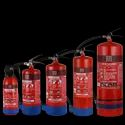 Carbon Steel Red Fire Extinguisher Dry Powder Type -- Abc Powder 50% Stored Pressure, Capacity: 2kg